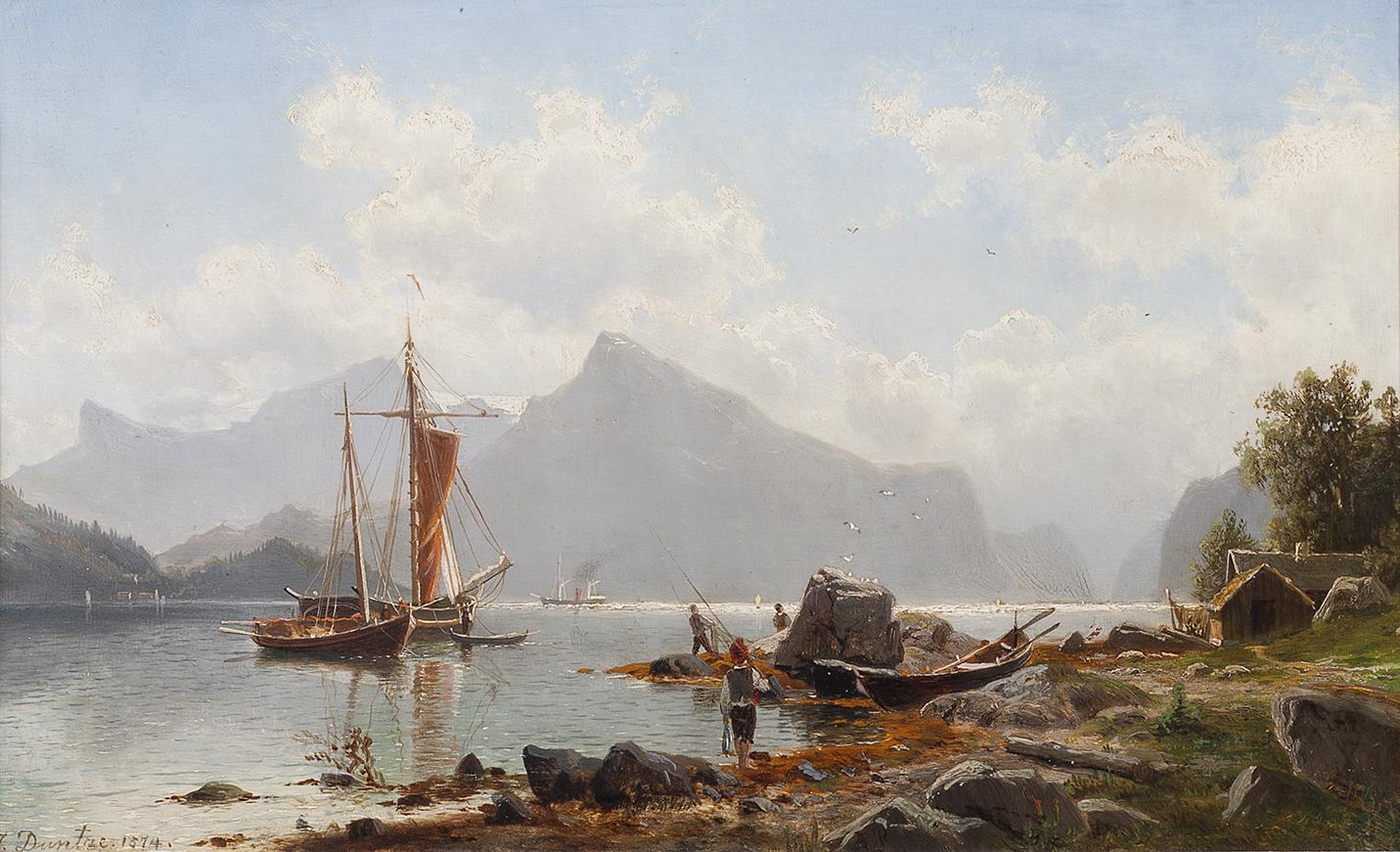 duntze_norwegische-fjordlandschaft
